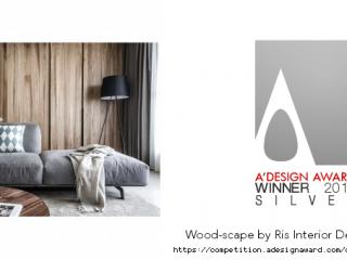 Silver A'design Award Winner for Interior Space and Exhibition Design Category in 2016-2017